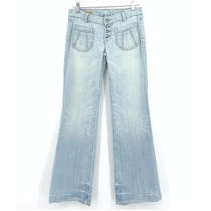 Citizens of Humanity Lia Wide Leg Button Fly Jeans